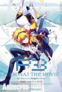Persona 3 Movie 2 - Persona 3 the Movie: #2 Midsummer Knight's Dream 2014 Poster