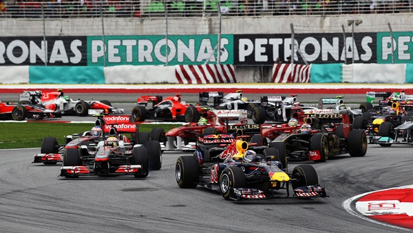 F1 live streaming free