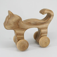 WA05, Cat, Lotes Wooden Toys