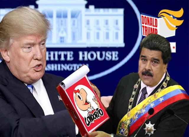 Venezuela recibirá sanciones económicas de los Estados Unidos