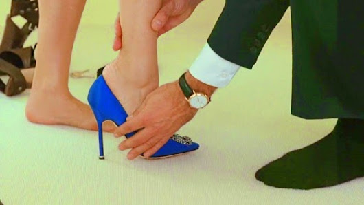 Fashion blog - In The Checkout Line: #Manolo Blahnik#Sexandthecity#OliviaPalermo