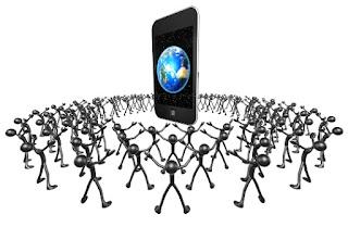 okostelefon marketing közösség