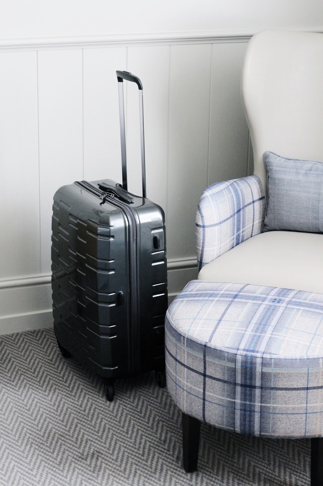 Antler Grey Medium Prism Suitcase