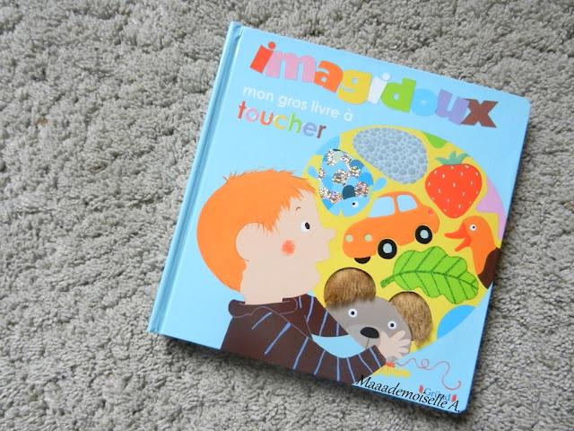 || Sélection d'imagiers à toucher : Mon gros livre à toucher (Présentation & Avis)(Chut, les enfants lisent # 48)