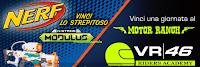 Logo Con Paluani vinci una giornata al Motor Ranch VR|46 Riders Academy oppure  Nerf N-Strike Modulus