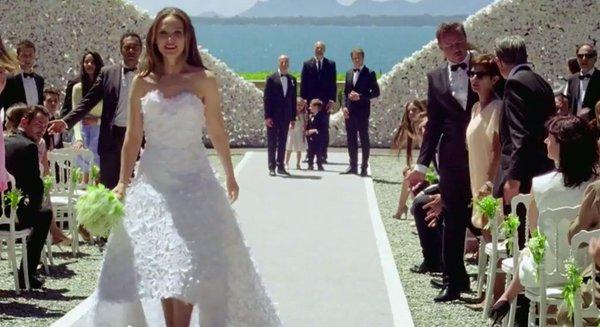 Casamento da Miss Dior comercial