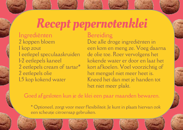 recept pepernotenklei