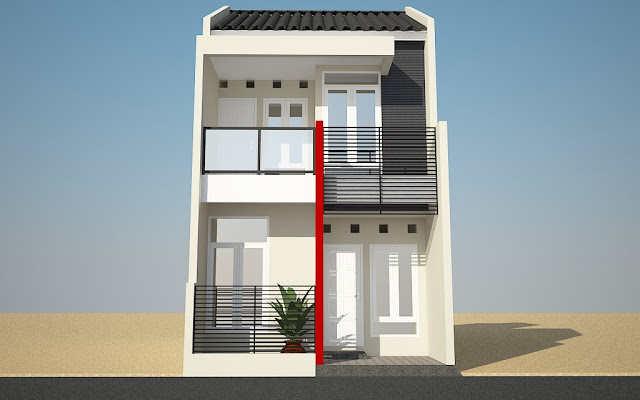 Rumah Minimalis Sederhana Tingkat