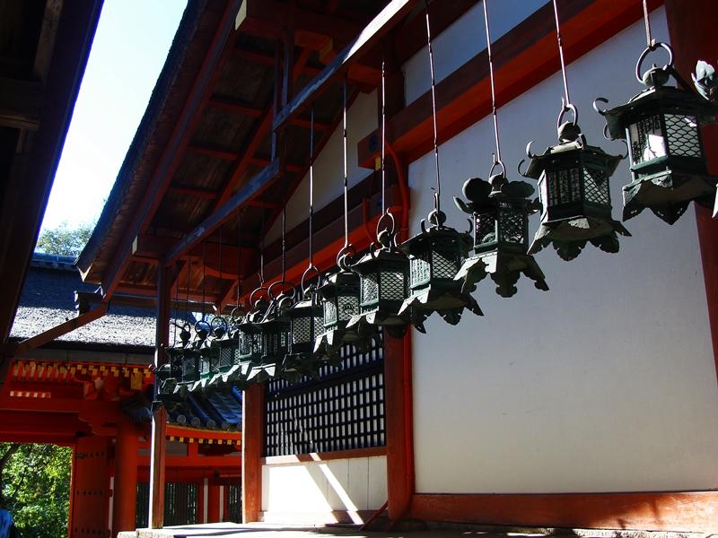Laternen im Kasuga Taisha Tempel