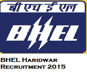 BHEL Haridwar for 278 Trade Apprentice