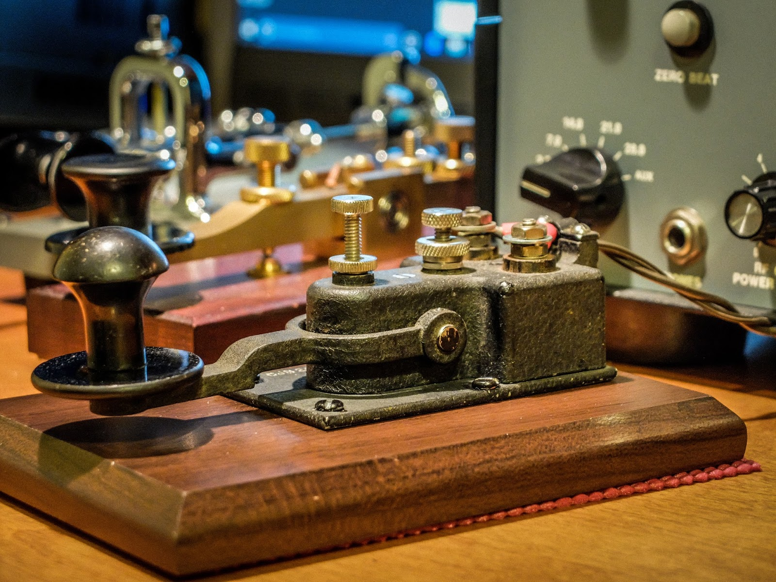 Ham Radio - QRP: In the Navy    You can sail the seven seas