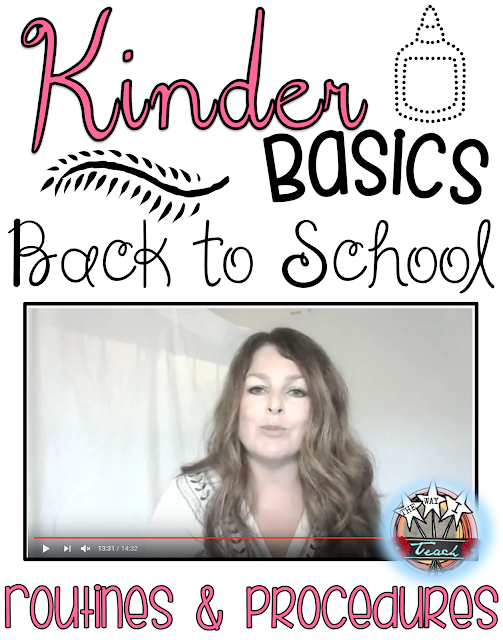 Kindergarten Routines and Procedures