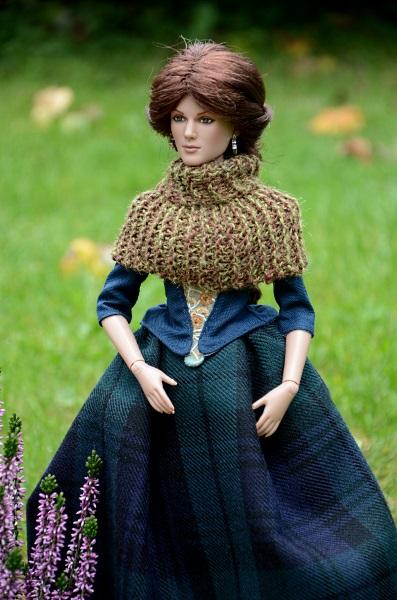 Handmade dress for Toner doll.