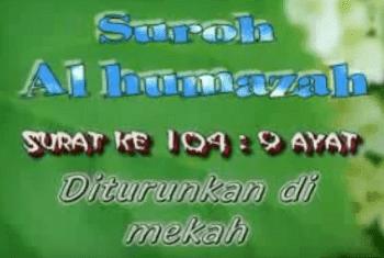 Surah Al Humazah Arab Latin Dan Terjemahannya Peraturan