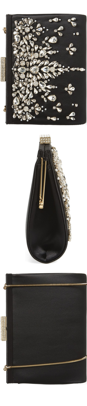 Badgley Mischka Adele Frame Clutch