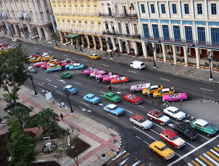 Kuuban autoja