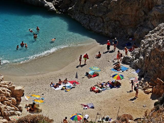 Plaża Porty Szatana Setian Limania na Krecie
