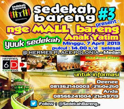 Komunitas Sedekah Bareng Medan https://www.ceritamedan.com/