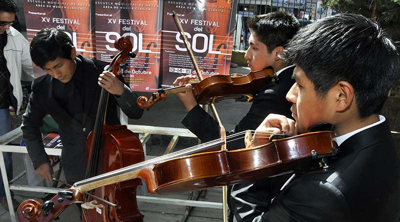 El Alto vivirá la versión 15 del festival de música sinfónica