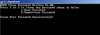 Cara Termudah Reset Password Bios Laptop