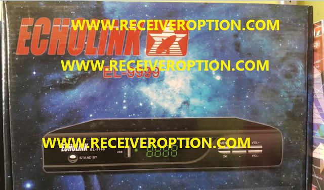 ECHOLINK EL-9999 GX6605S BOARD HD RECEIVER AUTO ROLL POWERVU NEW UPDATE