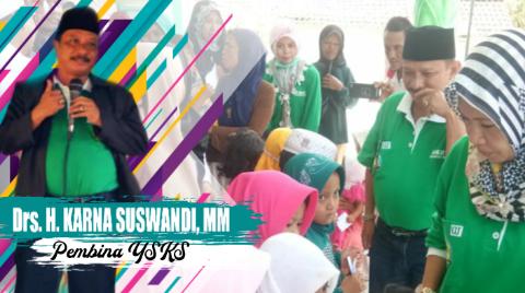 Drs. Karna Suswandi, MM Pembina Yayasan Sosial Kami Situbondo (YSKS)