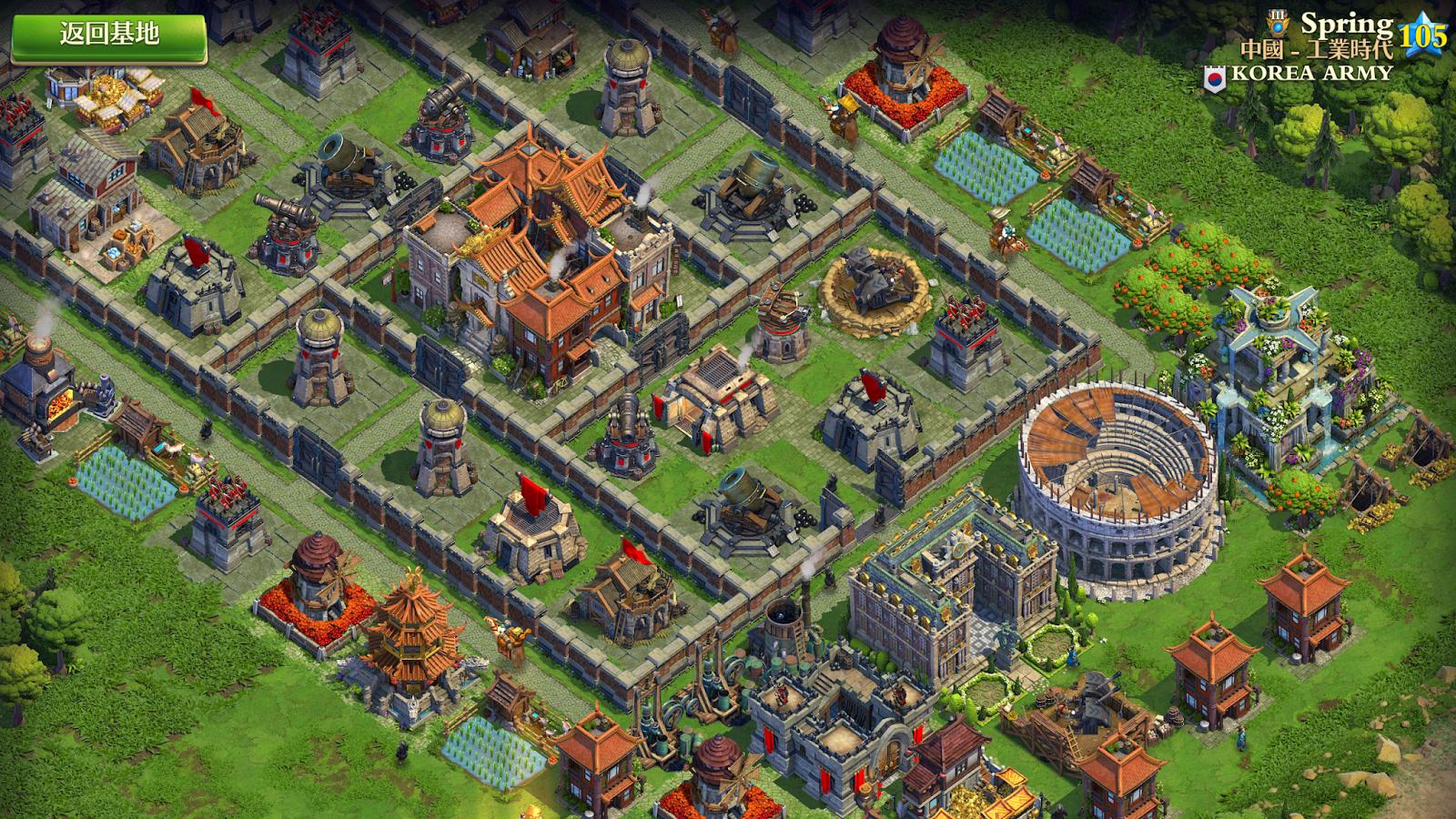 文明爭戰中文版推出:文明帝國結合部落衝突遊戲App