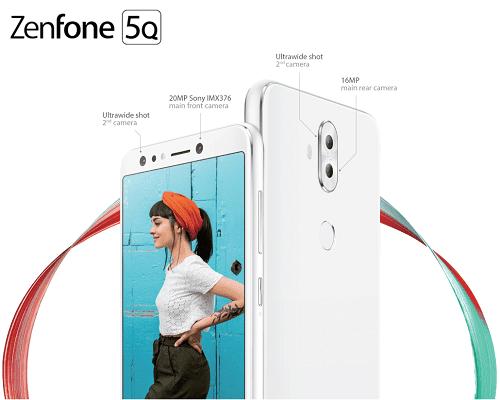 ZenFone 5Q: 6-inch smartphone featuring quad-camera system