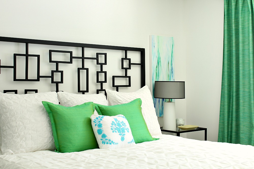 Green and Turquoise Bedroom Decor