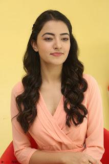 Rukshar Mir in a Peachy Deep Neck Short Dress 056.JPG