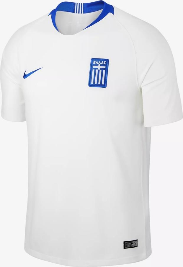 4083521ae Nike divulga as novas camisas da Grécia - Show de Camisas