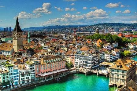 Kota Zurich, Kota Terbesar Eropa