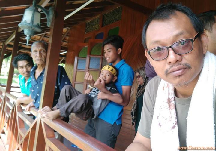 Percutian keluarga di Janda Baik