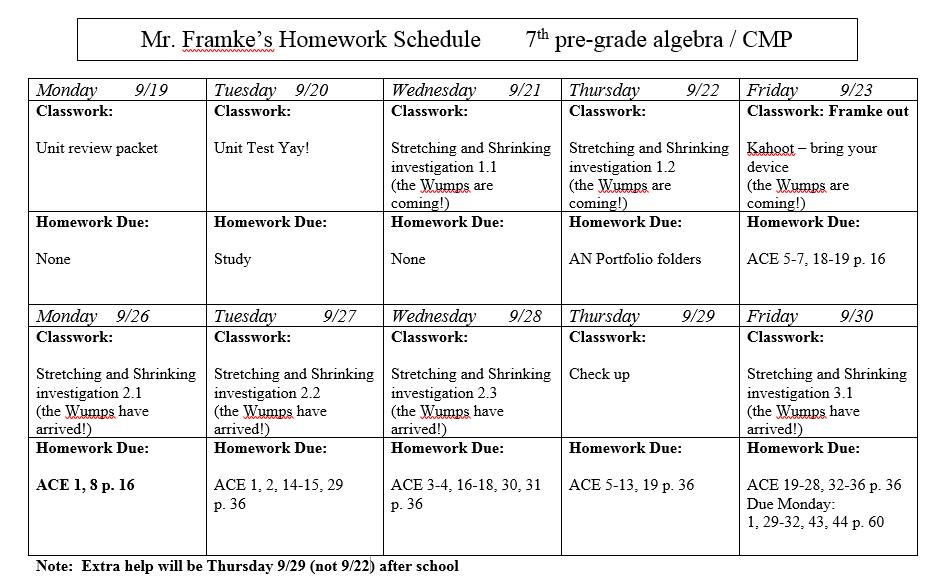 need help th grade math homework