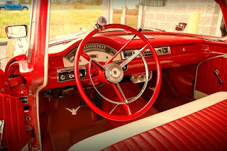 1957 Ford Fairlane Coupe Steering Wheel & Interior