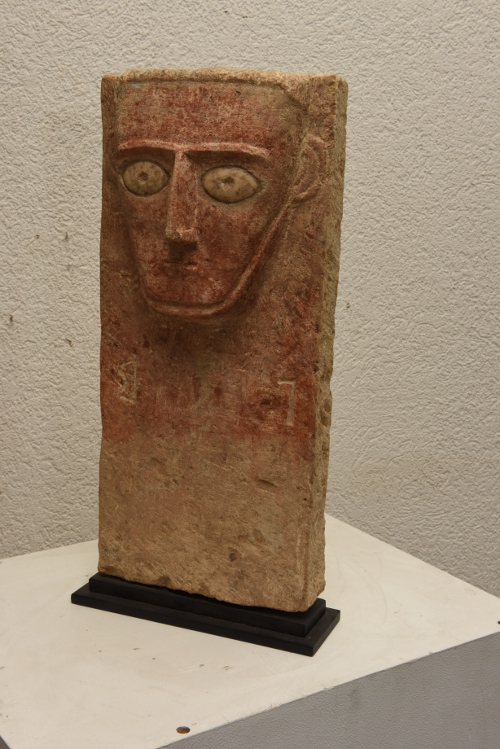 anthropomorphic stele