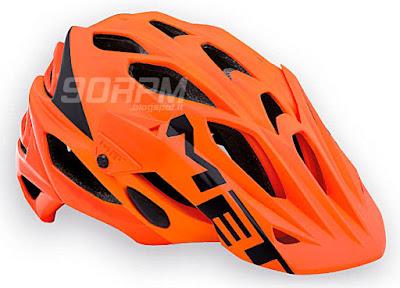 "Il casco da mountainbike ""Parabellum"" del produttore MET"