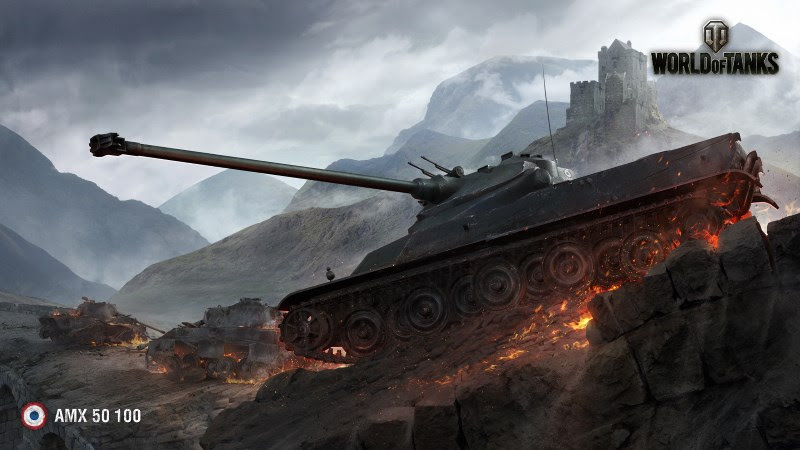 World Of Tanks (AMX 50 100)
