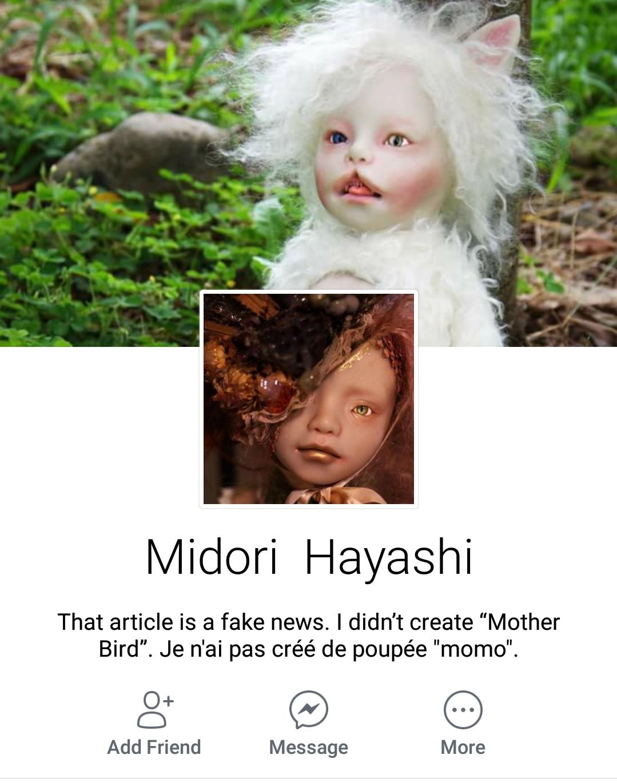 Midori Hayasi on Facebook
