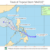 Marce intensifies into tropical storm