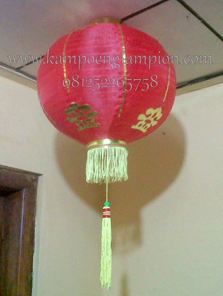 lampion Imlek - lampion china - imlek - grosir lampion - pengrajin lampion