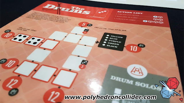 Polyhedron Collider UK Games Expo First Thoughts Preview - The Gig - Solo Board
