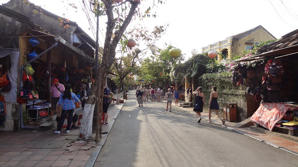 Walking street of Hoi An