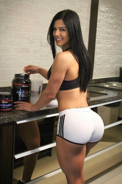 eva andressa gym