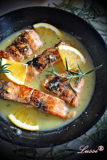 Сьомга с портокалов сос / Orange Glazed Salmon