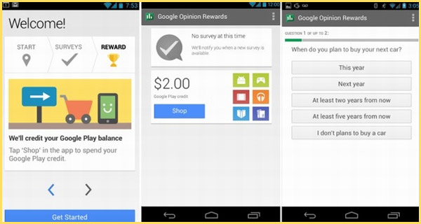 Earn Google Play Store Credit Free