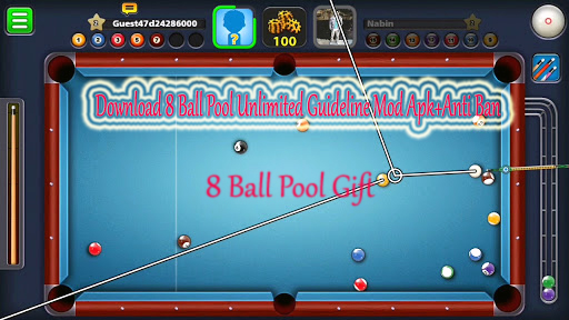 Download 8 Ball Pool Unlimited Guideline Mod Apk Anti Ban