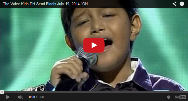 Semi Finals: 'One Day in Your Life' performed by Ton-ton Cabiles on The Voice Kids PH