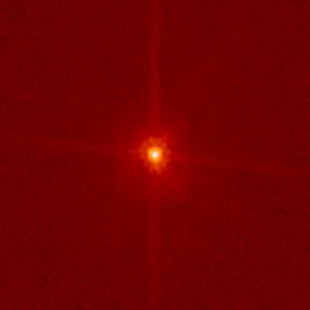 Makemake, visto desde el Hubble