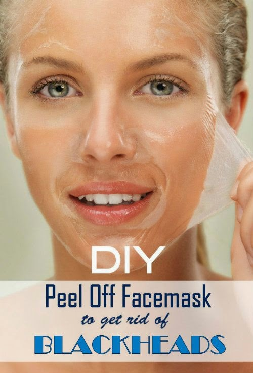 DIY Peel off Mask to Get Rid of Blackheads